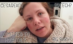 OVERWHELMED - 36 Weeks Pregnant DAY IN THE LIFE | Danielle Scott