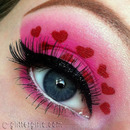 Valentine's Day look with video tutorial!