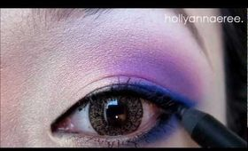 Tutorial: Blue Violets & Purple Pansies - Ready for Spring!