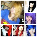 HAIR HELP.!! What color should I dye my hair.? Pick a number. Thanks(: