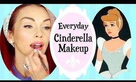 Everyday Disney Princess Cinderella Makeup   Kandee Johnson