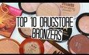 TOP 10 DRUGSTORE BRONZERS UNDER £15!