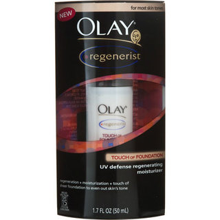 Olay Regenerist Touch of Foundation UV Defense Regenerating Moisturizer
