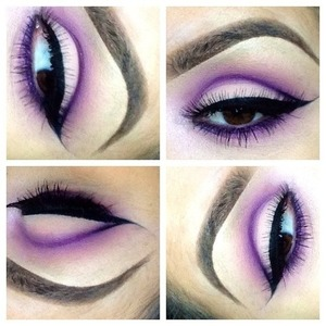 I love this purple look <3