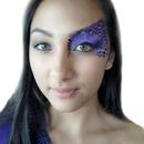 Pretty Purple Leopard Eye