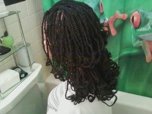 Nubian Kinky Hair