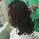 Kinky Twist Black#1