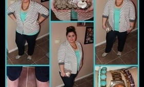 Plus Size Spring OOTD: Hints Of Mint