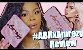 Lets Test It! Amrezy X Anastasia Beverly Hills *DETAILED Review, Swatches + Demo | Chrissy Glamm