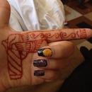 Galaxy and henna gun