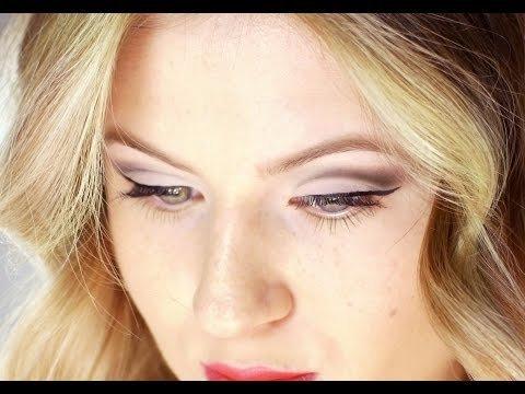 how to  cut crease eye makeup tutorial  milabu video