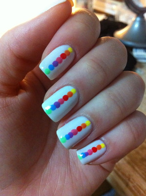 # 9 - rainbow nails