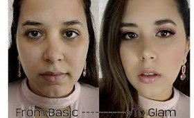 From Basic to Glam Makeup Tutorial