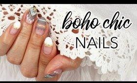 Boho Chic Summer Nails   Mananails Inspired ♡