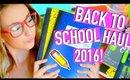 Back To School Supplies Haul 2016-2017! + HUGE GIVEAWAY