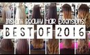 Before & After Hair Extension Transformations - Best of 2016 | Instant Beauty ♡