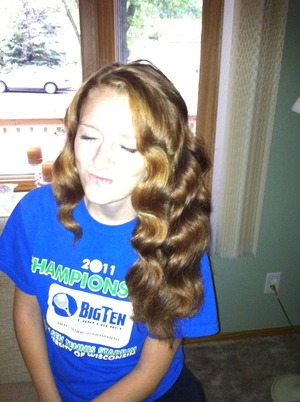 My sister let me play with her hair... If only I could do it more often!