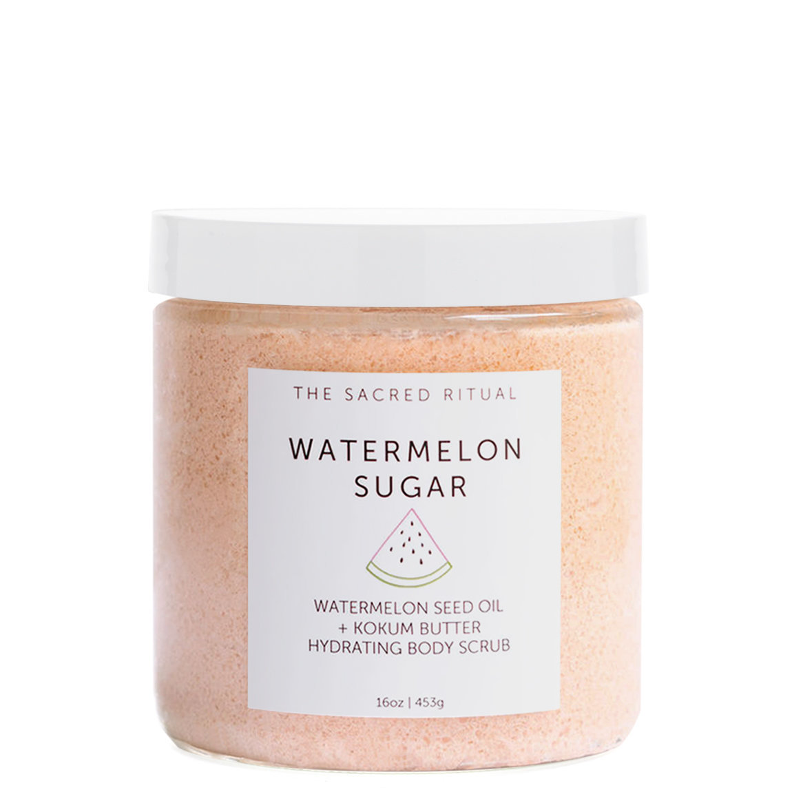 The Sacred Ritual Watermelon Sugar Hydrating Body Scrub alternative view 1 - product swatch.