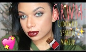 GRWM: CHOCOLATE SPARKLE! | MissToniTone