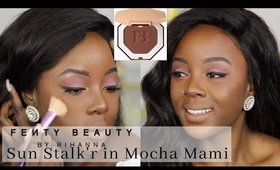 BRONZER ON DARK SKIN? MOCHA MAMI FENTY BEAUTY | Rachael Nalumu