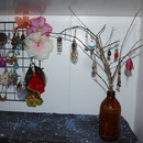 DIY earring tree!