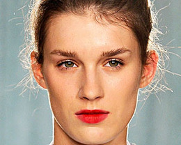 Erdem Makeup, London Fashion Week S/S 2012