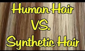 Human Hair Extensions vs. Synthetic Hair Extensions - 5 Differences   Instant Beauty ♡