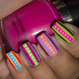 Blog post here: http://www.bellezzabee.com/2014/01/californails-january-nail-art-challenge_22.html