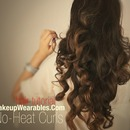 Kim Kardashian No-Heat Curls Hairstyle | Hair Tutorial Video