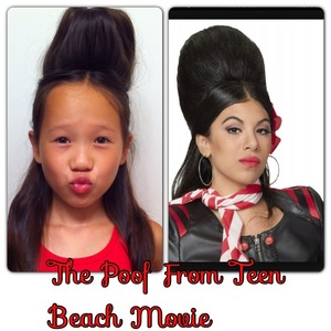 I tried to recreate Chi Chi's poof on my sister lol! Tell me what you guys think ;)