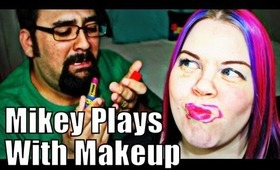 Mr. Vintageortacky Does My Makeup