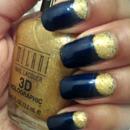 Gold half moons