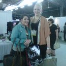 Me at IMATS NYC with Nikkie
