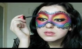 Colourful Mask Makeup Tutorial