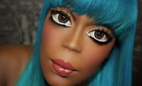 Real life #ANIME #Makeup Transformation