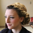 Braided Side Bun and Natural Makeup
