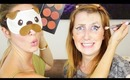The Blindfold Makeup Challenge with Chloe Morello!