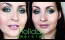 Holiday Emeralds Makeup