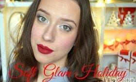 Vianočné líčenie / Soft Glam Holiday Makeup Tutorial