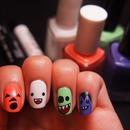Cute Halloween Mani