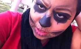 zombie boy inspired makeup