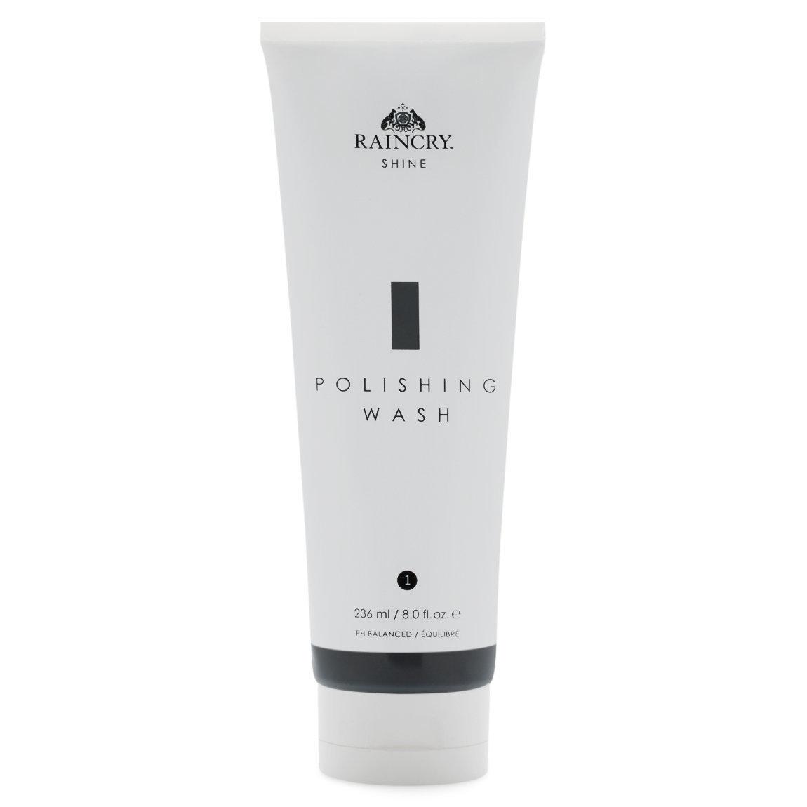 Raincry Polishing Wash Shampoo product swatch.