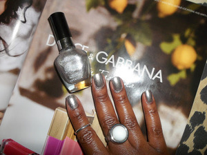 """WET N WILD Nail Color by Fergie in """"Going Platinum"""""""