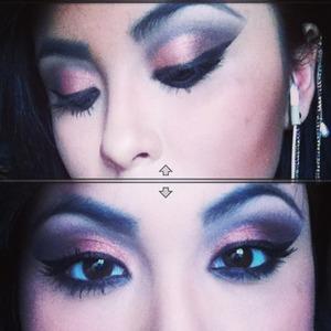 Dramatic eyes 😃👏
