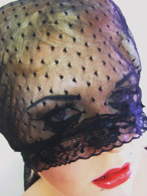i'll follow you until you love me (Gaga inspired makeup) 2010
