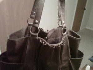 Brown Tote from DSW