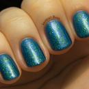 Mermaid tail nails