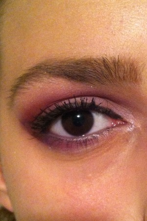 Purple and eggplant and pink:)