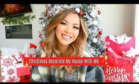 CHRISTMAS DECORATE MY HOUSE WITH ME 2019!