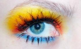 Tutorial: Jeremy Scott Fall 2011 makeup.